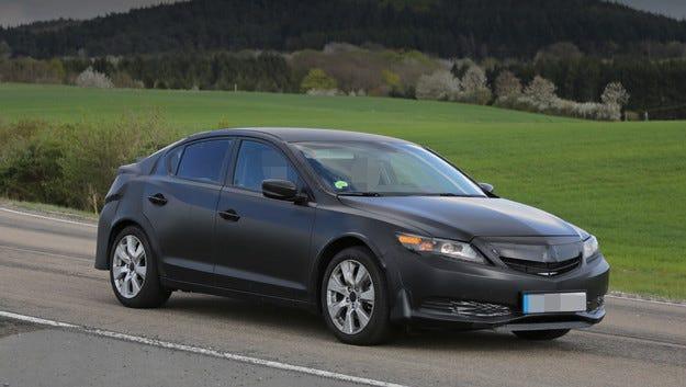 Следващият Honda Civic се появи под черупка на Acura