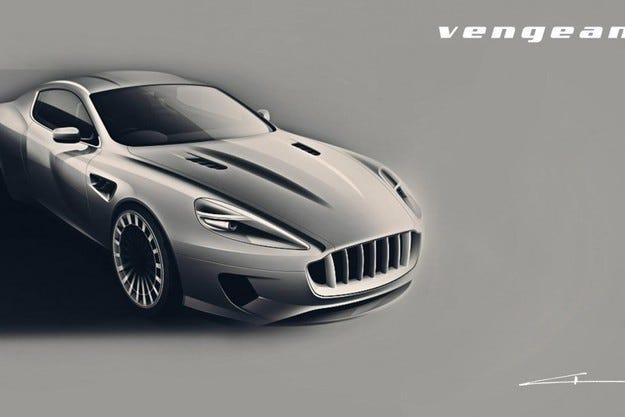 Kahn Design WB12 Vengeance DB9 силно индивидуализиран