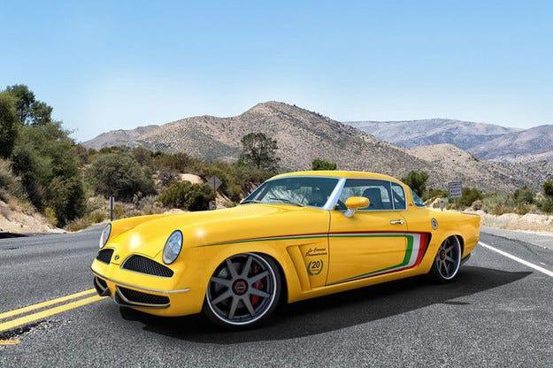 GWA Studebaker Carrera Tribute: Обновената легенда