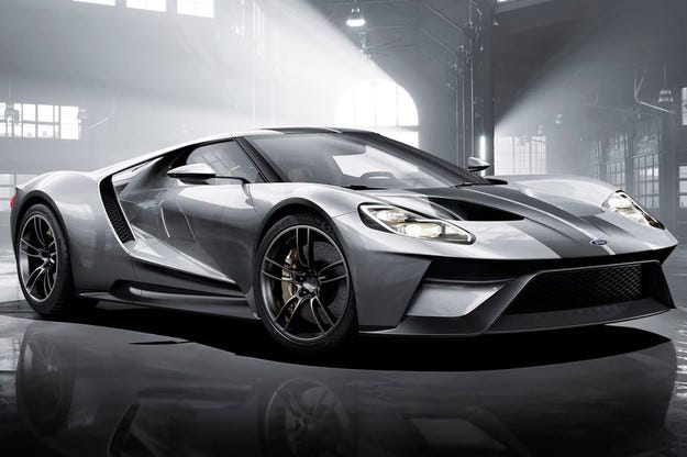 Разкриха техническите характеристики на Ford GT