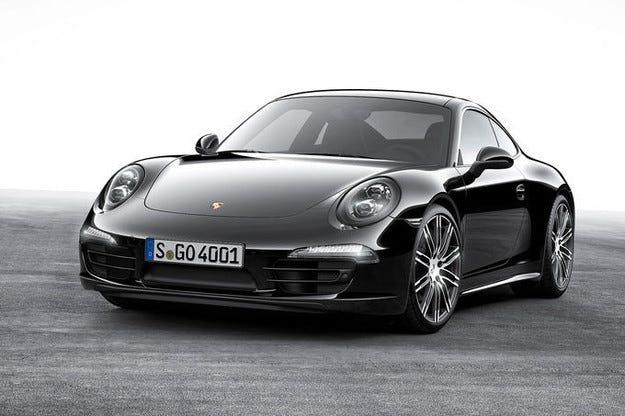 Porsche 911 & Boxster Black Edition: Черно и различно