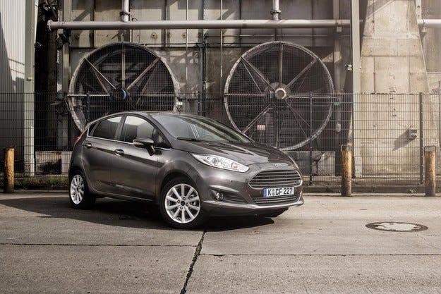 Ford направи козметични промени на хечбека Fiesta