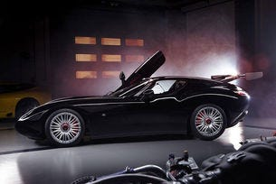 Zagato Maserati Mostro: Римейк на чудовището