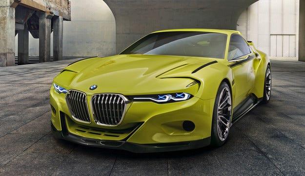 BMW 3.0 CSL Hommage намекна за карбоновото бъдеще