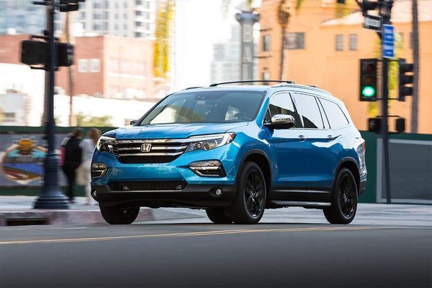 Honda изпрати към поточната линия новия Pilot