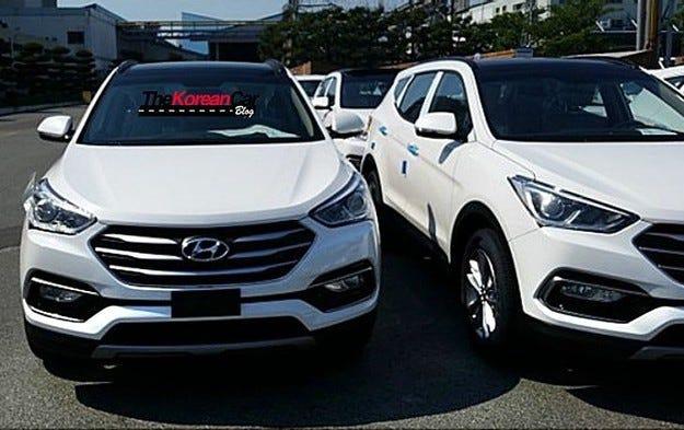 Разсекретиха обновения Hyundai Santa преди премиерата