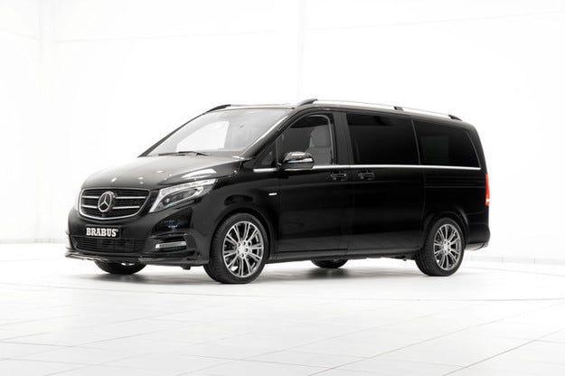Аристократът Brabus Mercedes V-класа е още по-мощен