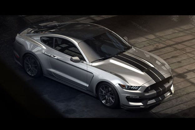 Ford разкри подробности за мотора на Shelby GT350R