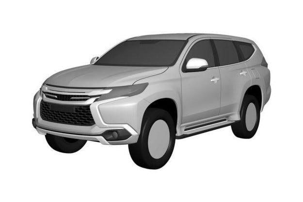 Разкриха дизайна на новия Mitsubishi Pajero Sport