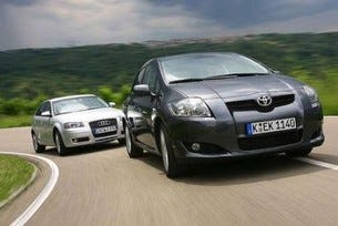 Toyota Auris срещу Audi A3