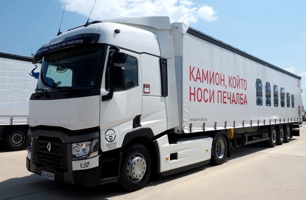 Старт на Renault Trucks Optifuel Challenge 2015
