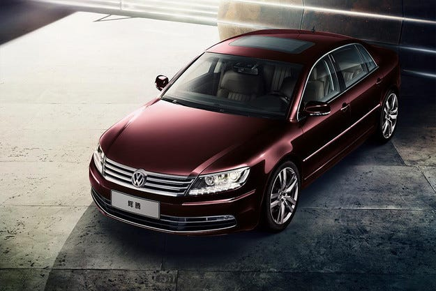 Немската компания Volkswagen обнови седана Phaeton