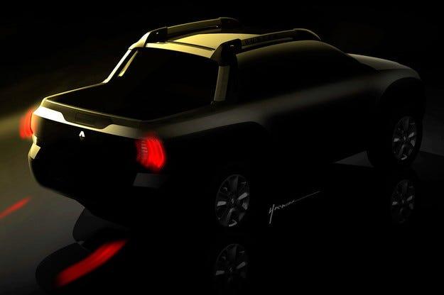 Renault разкри първи изображения на пикапа Duster