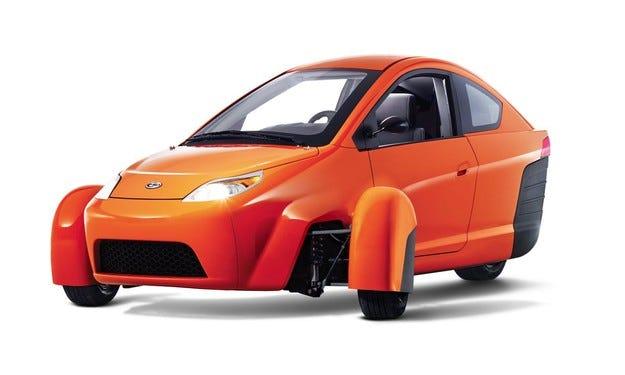 В Щатите произвеждат евтини коли на три колела