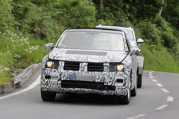 Прототипът VW Tiguan: Новото поколение е на тест