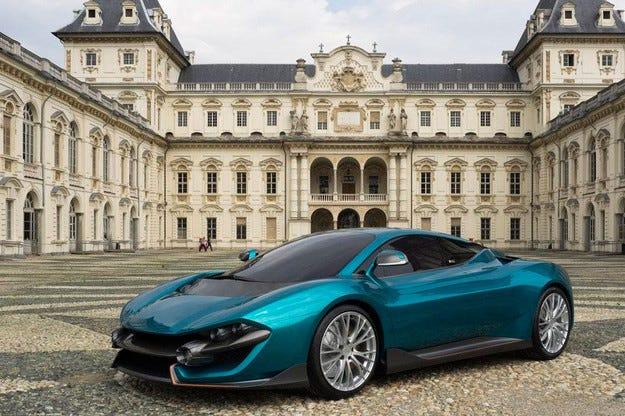 Италианци направиха хибриден супер автомобил с 860 к.с.