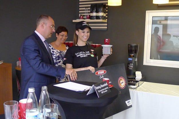 OMV организира първия VIVA кафе бариста шампионат