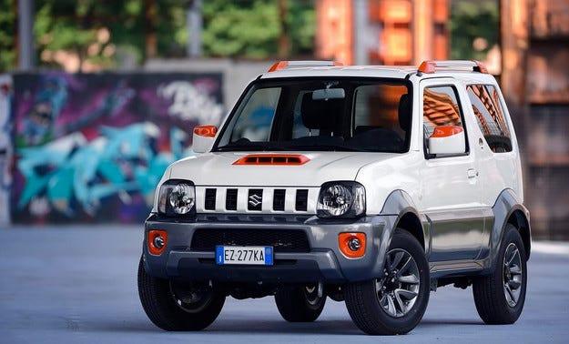 Suzuki разработи специална версия на Jimny