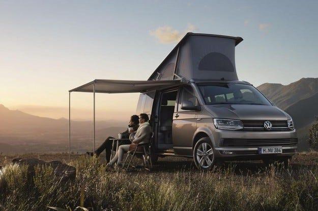 Разкриха първите подробности за Volkswagen California