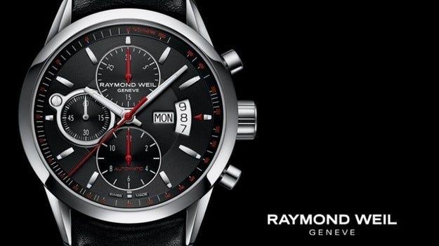 20% намаление на часовниците Raymond Weil