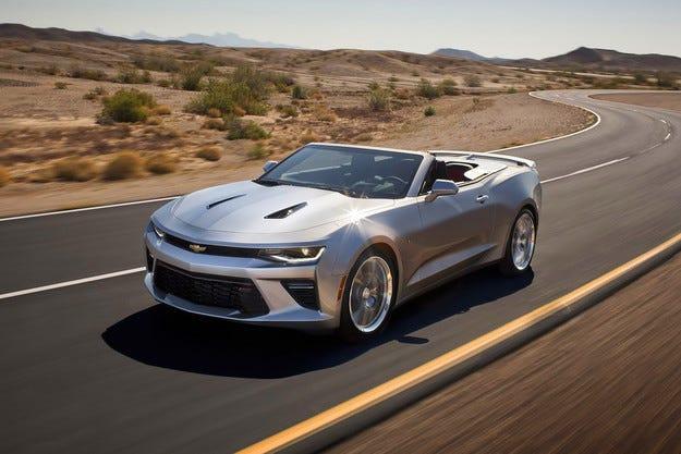Chevrolet представя официално кабриолета Camaro