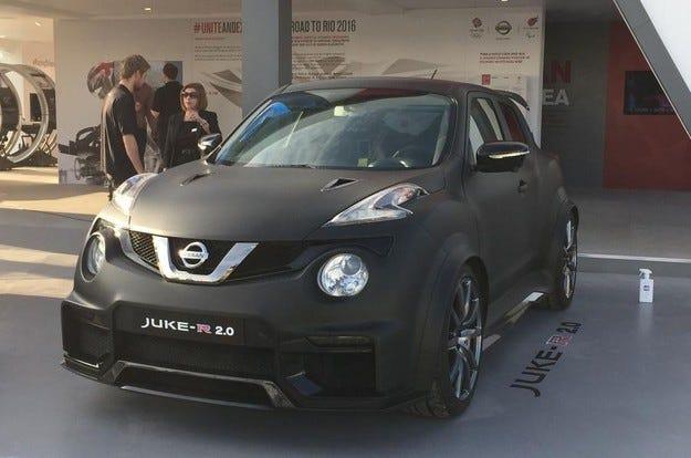 Nissan Juke-R 2.0 дебютира на Фестивала на скоростта