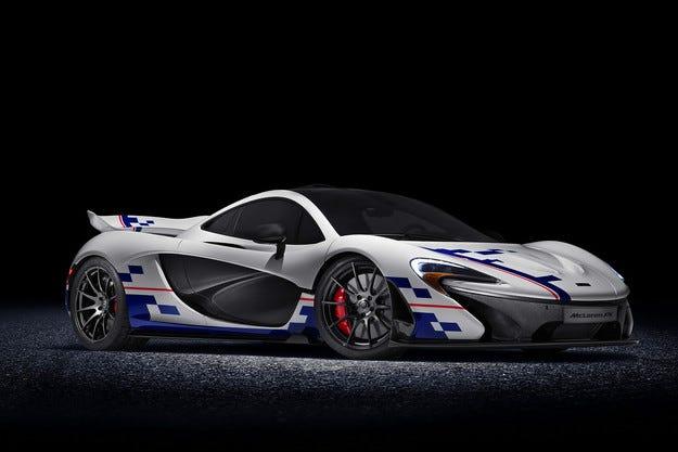 McLaren разработи специална версия на Р1
