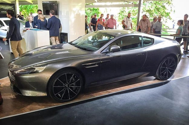 Aston Martin представи в Гудууд най-мощния DB9