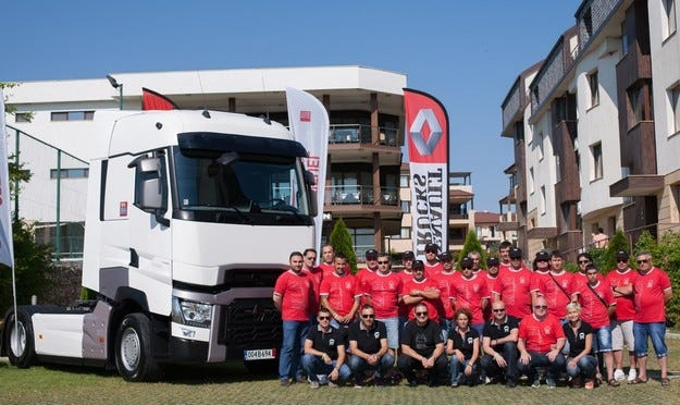 Ето и новите шампиони по ефективност наRenault Trucks
