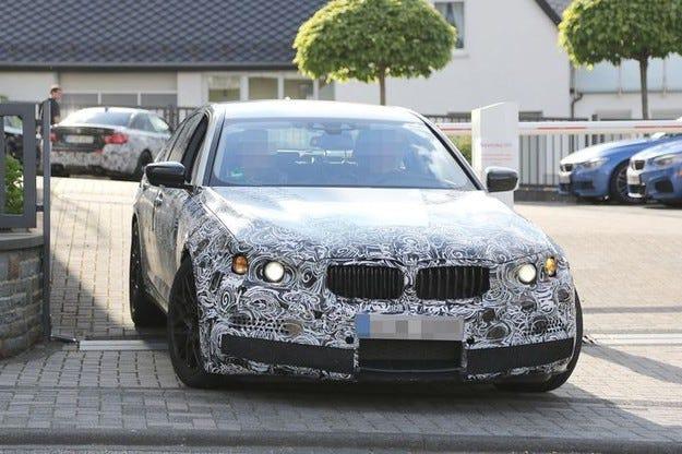 Прототипът BMW M5 (2017): Ето го новия мощен седан