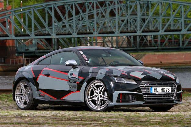 HG Motorsport Audi TTS 336 PS с чисти дихателни пътища