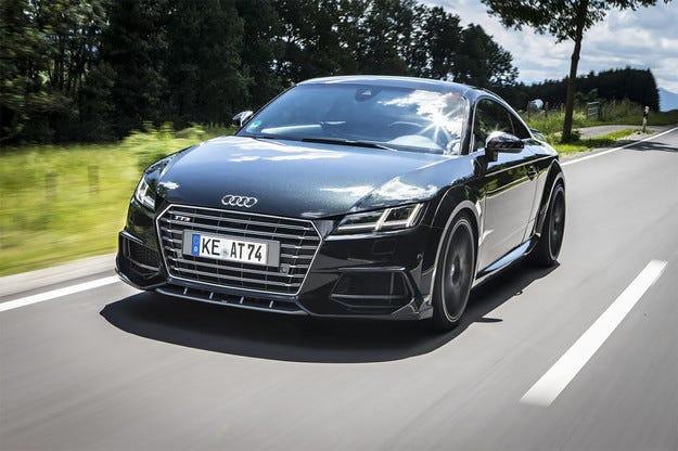Добавиха още конски сили на купето Audi TTS