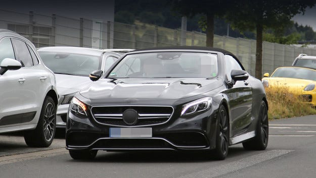 Приготвят стилен Mercedes-Benz S 63 AMG Cabrio