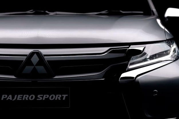 Mitsubishi показа новия Pajero Sport на видео