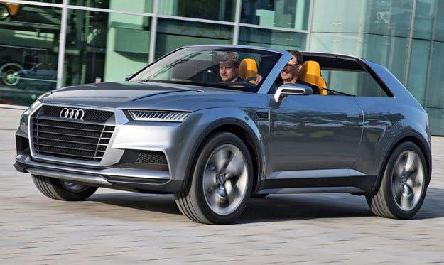 Кросоувърът Audi Q1 ще се окаже по-млад събрат на Tiguan