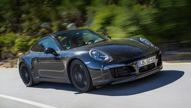 Купето Porsche 911 идва с обновено лице във Франкфурт