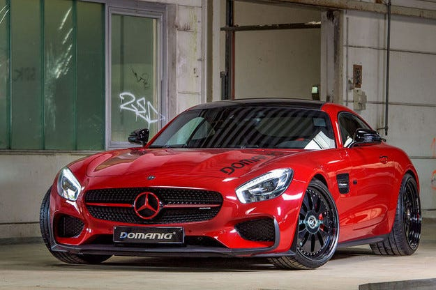 Domanig Mercedes AMG-GT S Edition 1 с 322 км/ч