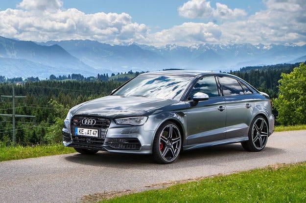 Abt Audi S3 при режим Power S вдига 400 к.с.