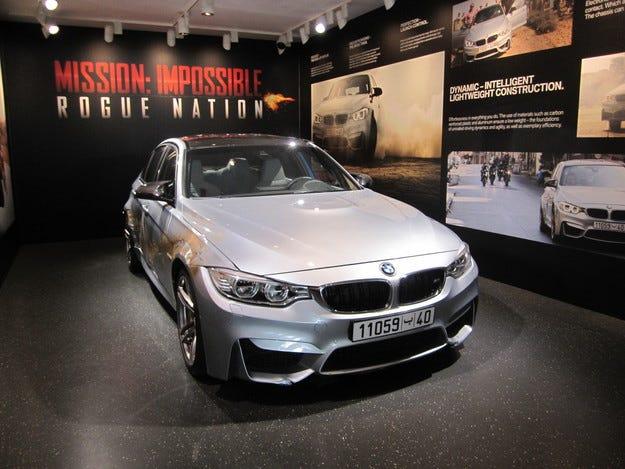 BMW М3 от Мисията невъзможна: Престъпна нация