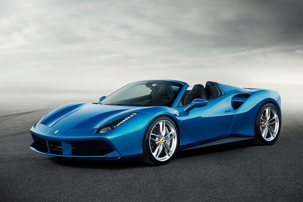 Ferrari представи своя най-мощен модел без покрив