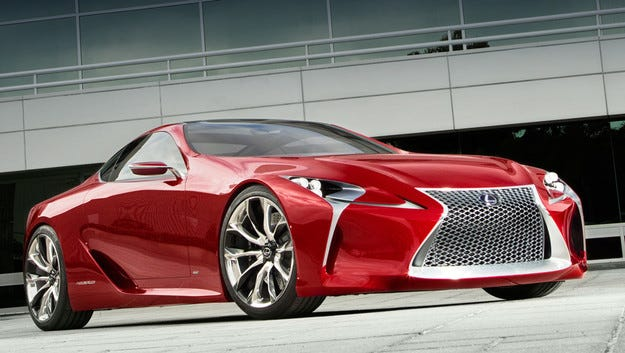 В Lexus не са изоставили идеята за голямо купе