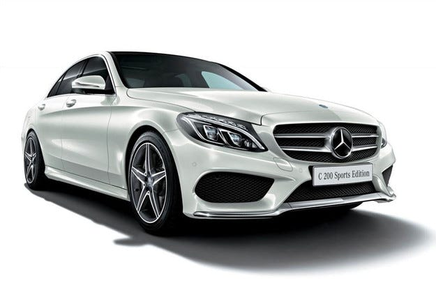 Mercedes-Benz показа седана C 200 Sports Edition