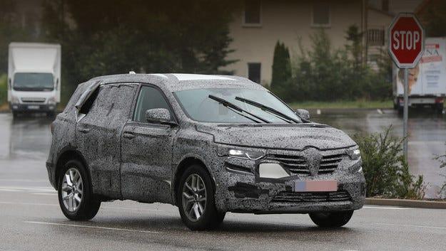 Кросоувърът Renault Koleos ще e много близък с X-Trail