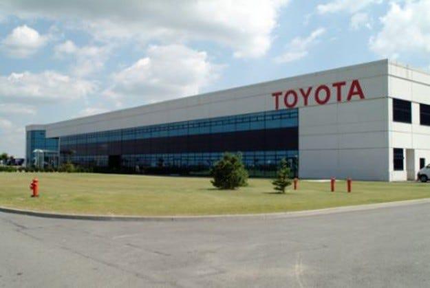 Заводът на Toyota Valenciennes
