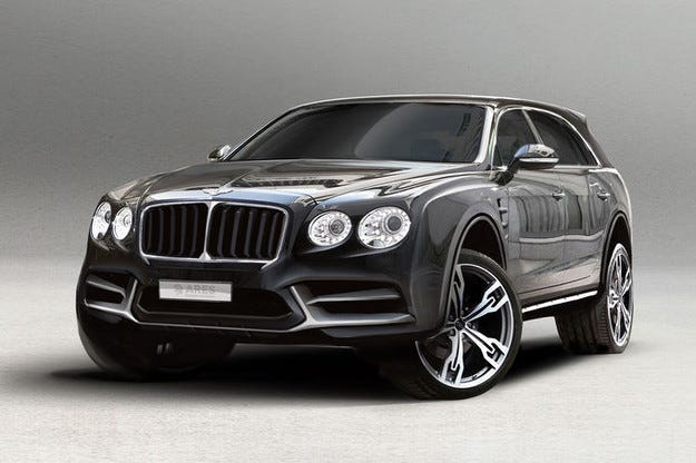 Студиото Ares направи SUV версии на Bentley и Rolls-Royce