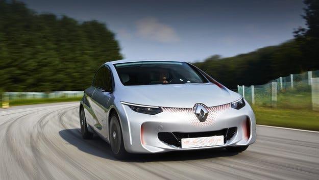 Renault оборудва горещите модели с хибридна система