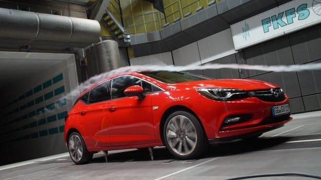 Opel Astra: аеродинамика за по-добра ефективност