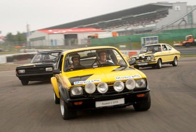 Opel осигури невероятни мигове на Oldtimer Grand Prix