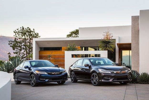 Представиха обновеното купе Honda Accord за САЩ