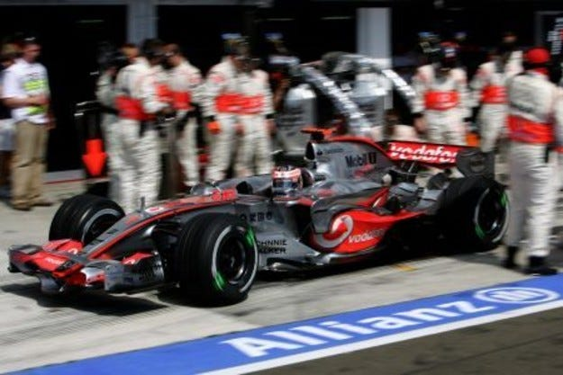 Алонсо и McLaren